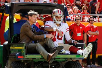 49ers Confirm Jimmy Garoppolo Out For Season With Torn ACL