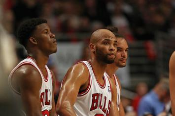 "Jimmy Butler's ""Sudden"" Trade Demand Hit Taj Gibson ""Like A Right Hook"""