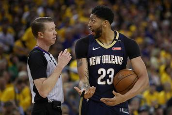 """Lakers & Celtics Are """"Odds-On Favorites"""" To Land Anthony Davis in 2019"""