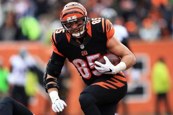 Bengals' Tyler Eifert Suffers Absolutely Gruesome Looking Ankle Injury