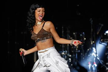 """Rihanna Jokes She Feels """"Attacked"""" By Fans Asking For New Music"""