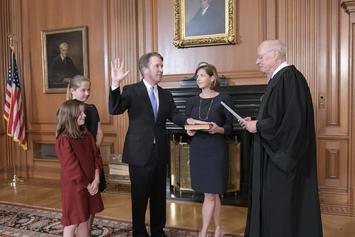 Brett Kavanaugh Is Sworn In As Supreme Court Justice