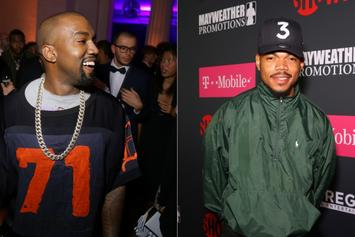 Kanye West & Chance The Rapper Party With Their Kids At The Sugar Factory