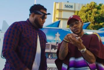 """Eric Bellinger Drops Off New Video For """"Pullin Up"""" With AD"""