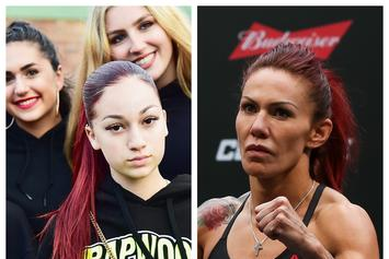 "UFC Star Cris Cyborg Is Bhad Bhabie's Personal Trainer: ""She Really Like Street Fights"""