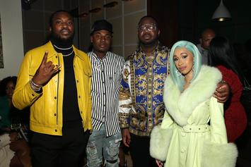 Cardi B & Meek Mill's Collaboration Previewed In New Snippet
