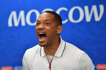 Will Smith Terrified During Face-To-Face Meeting With Giant Kangaroo