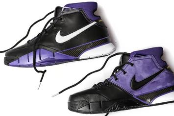 "Nike Kobe 1 Protro ""Purple Reign"" Returns: Purchase Links"