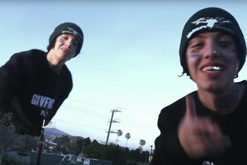"""Lil Xan Goes Through The Motions In """"Slope"""" Visuals"""