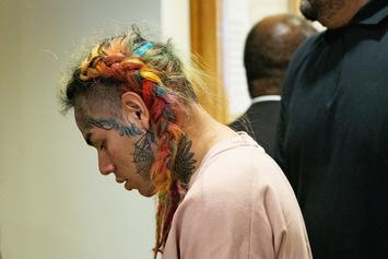 6ix9ine's Crew Reportedly Preparing For His Upcoming Prison Sentence