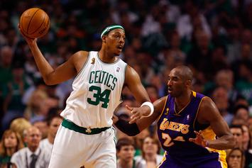 "Paul Pierce Acknowledges Kobe Bryant's Praise: ""I Was Just Stronger Than Him"""
