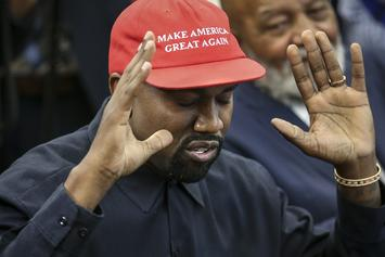 """Kanye West & Candace Owens  Still Friends After Her Lies & """"Blexit"""" Sales Boom: Report"""