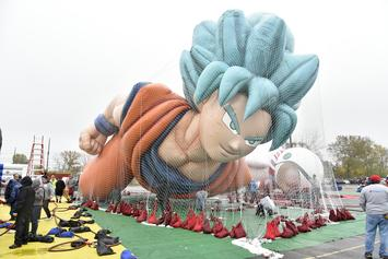"""Dragon Ball Super"" Goku Thanksgiving Day Parade Balloon Takes Flight: Watch"