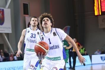 "LaMelo Ball's New Coach Says He Can Be ""No. 1 Pick In A Year Or Two"""