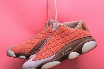 "CLOT x Air Jordan 13 Low ""Terracotta Warrior"" Coming Soon"