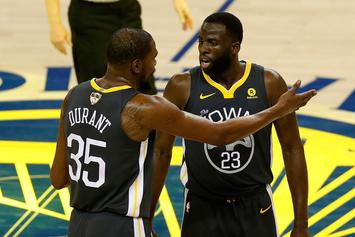 Kevin Durant Says He Still Hasn't Spoken To Draymond Green