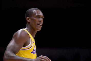 Lakers' Rajon Rondo To Miss Weeks With Broken Hand: Report