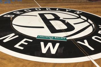 "Brooklyn Nets Debut Biggie-Inspired ""City Edition"" Home Court"