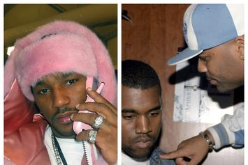 """Cam'ron Dedicates 1st Verse On """"Diplomatic Ties"""" To Dissing Kanye West"""