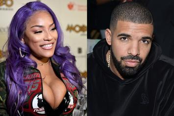 Drake & Stefflon Don Cozy Up Over Drinks Taking Their Instagram Flirting Offline