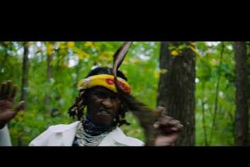 "Young Thug, Lil Baby & Gunna Explore A Trippy Forest In ""Chanel"" Music Video"
