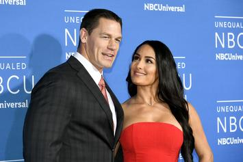 Nikki Bella & John Cena Are Not Back Together, Despite Cuddly Romantic Pics
