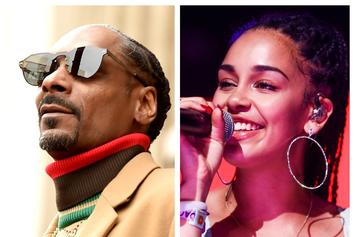 "Snoop Dogg Gets ""VIP Treatment"" At The Jorja Smith Show"