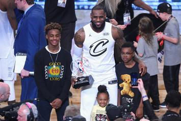 "LeBron James Hints At Bronny Jr. Going To Duke: ""Love Coach K"""