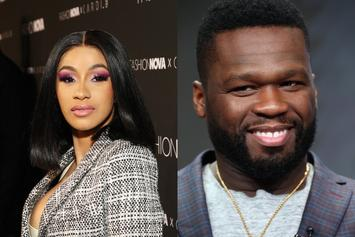 "50 Cent Posts Up On Cardi B's IG: ""Cute Outfit But You Gotta Go Home"""