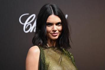 Kendall Jenner Wears A See-Through Dress To British Fashion Awards
