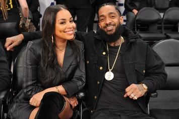 "Nipsey Hussle Finally Acknowledges His ""Wife"" Lauren London"