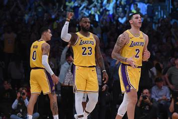 Lebron James & Lonzo Ball Earn Triple-Doubles In The Same Game Against Hornets