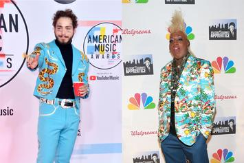 Post Malone Received A $25 Olive Garden Christmas Gift Card From Dennis Rodman