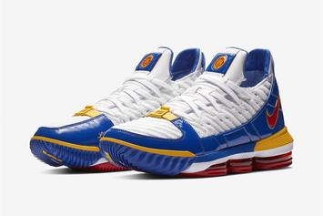 """Nike LeBron 16 """"SuperBron"""" Coming Soon: Official Images"""