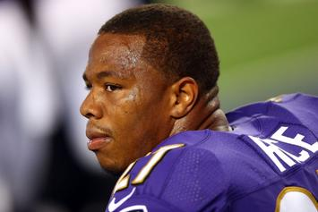 """Ray Rice Speaks On Domestic Violence, Says He's """"Done With Football"""""""
