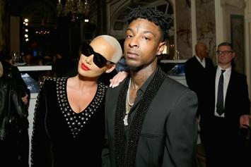 21 Savage May Have A Stalker Anthem Aimed At Amber Rose