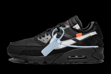 """The """"Off-White"""" Nike Air Max 90 In All Black Rumored To Release In January"""