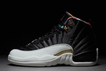 "Air Jordan 12 ""Chinese New Year"" Detailed Images"