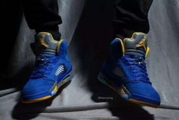 """All-New """"Laney"""" Air Jordan 5 Launching Next Month: New Images"""
