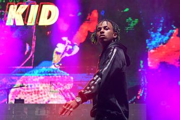 Rich The Kid Injures Hand After Crashing UTV
