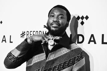 Meek Mill Hints At Being In Love, Hides Face Of Possible New Girlfriend