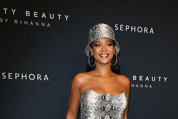 Rihanna Goes Braless Under Her Killer NYE Gown
