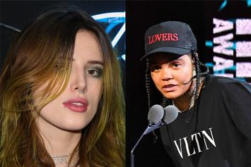 """Young M.A Catches Bella Thorne Thirsting For Her """"Hotel Companionship"""""""