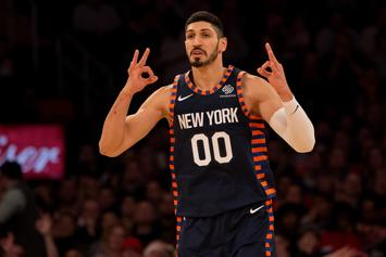 Enes Kanter Fearful Of Assassination, Will Skip Knicks' London Trip