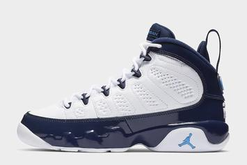 "Air Jordan 9 ""Pearl Blue"" Releasing For NBA All-Star Weekend"