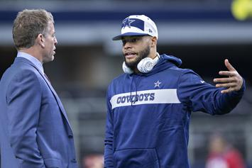 Dak Prescott Receives High Praise From Troy Aikman