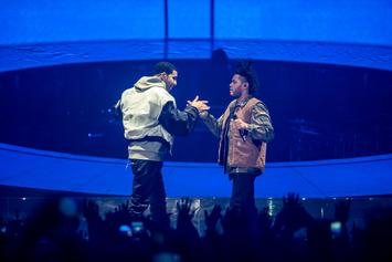 """The Weeknd Fans Are Convinced He Is Dissing Drake On """"Lost in the Fire"""""""
