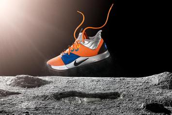"""Paul George, Nike Officially Introduce """"NASA"""" PG3 Colorway"""