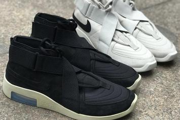 Nike Air Fear Of God 180 To Release In Black And Light Bone: Report