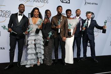 """Chadwick Boseman Delivers Electrifying Speech As """"Black Panther"""" Wins At SAG Awards"""